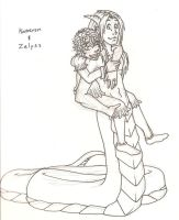 Kameron and Zalyss by Doodlebotbop