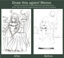 Draw This Again Meme by MystiqueGoddess