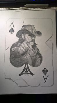 The ace of spades by Blackidus