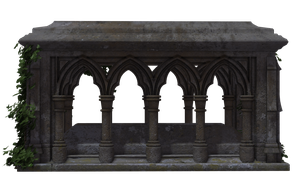 Gothic Tomb 02 by Free-Stock-By-Wayne