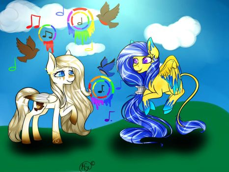 {Contest Entry} Colorful music by artislife4592
