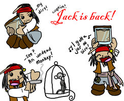 Cap'n jack is back by mutantzombiebaby