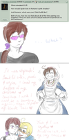 Pink Shades, Chibimano + Relationship Status :10: by Ask-2P-Spamano