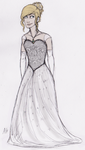 Celaena's Ball Gown by Deesney