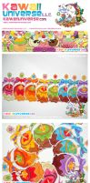 Kawaii Candy Apple Spectrum V by KawaiiUniverseStudio