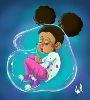 Bubble Girl by LeoVanni