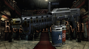 Resident Evil HD Remaster  Flamethrower by OoFiLoO