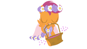 FLower Girl Scootaloo by Amana07