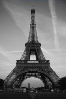 The Eiffel Tower - Tour Eiffel by A-Painted-House
