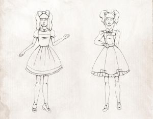 Lolita Sketches 03 by Ninelyn
