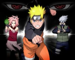 Team 7 fight by sashun08