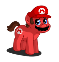It's-a me Mario.. ? by Sklavenbrause