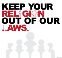 Religion Out Of Laws by kevinkidwell