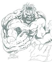Hulking Out by Onore-Otaku