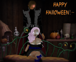 Have a creepy Halloween by Squibyplaya