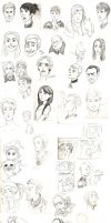 All the sketches by M-I-D-S