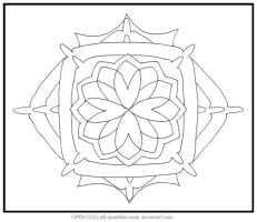 Blossom Mandala OPEN COLLAB by Quaddles-Roost