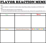 Flavor Reaction Meme by Screwed-In-The-Head