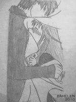 :Old Art: Kyo and Tohru by Bahelen