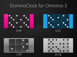 DominoClock for Omnimo 3 by brbk