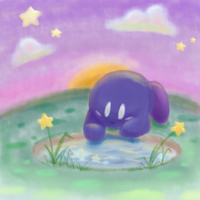 Here is a little Meta Knight by teeny-pie-minion