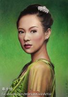 Zhang Ziyi by LMan-Artwork