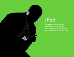 iPod Commercial .:2 of 2:. by kdaver