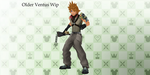 [MMD] Older Ventus WIP by Riu-yuri