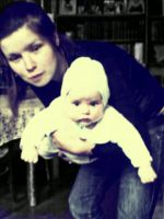 just chilling and old style photo make by ang11