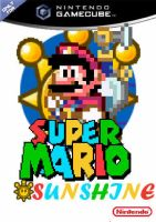 Super Mario Sunshine in 16 bit by jdunning619