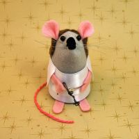Princess Leia Mouse by The-House-of-Mouse