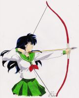Hit The Mark - Kagome by xMomooh