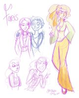 FFV: Faris Sketches by Alias-Hugo