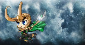 Loki (cute version) by dIk-ThePrince
