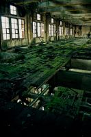 Urbex : Green Mills by exkub