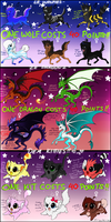 Supah Adoptables! by GoldenTigerDragon