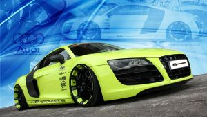 Audi R8 xXx Performance Wallpaper by GregKmk