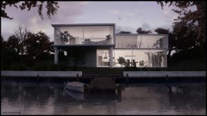 House at the River by 3DPORTFOLIO