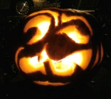 The Pumpkin Who Had a Stroke by ThatNorskChick