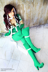 X-Men Legacy Rogue cosplay by Rukiii