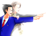 Ace Attorney - ''In that one moment... by Minouze