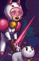 Bee and Puppycat by Pew-PewStudio