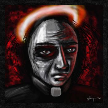 The priest by chop