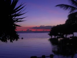 sunset at mauritius 4 by Aaloka