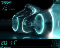 Another TRON desk by yorgash