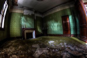 The green room by Deadcam