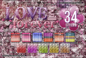 LoveWillForever 34 STYLES by sparksofwishes