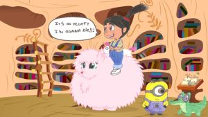 Agnes on Fluffle Puff by KirbyBelle