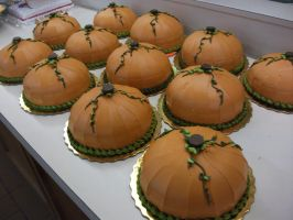 Pumpkin Cakes 2009 by Nimhel