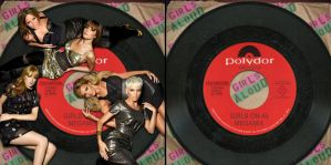 Girls on 45 Album Cover by Scavgraphics